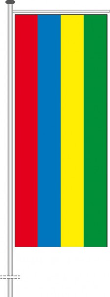 Mauritius als Auslegerfahne