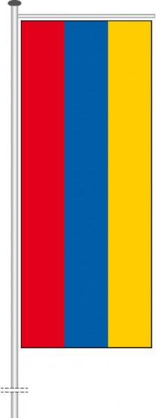 Armenien als Auslegerfahne
