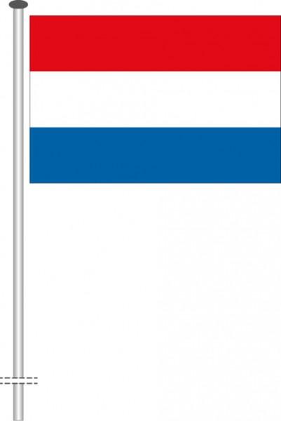 Luxemburg als Querformatfahne