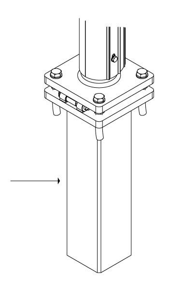 Kipphalter-Unterteil (Set)