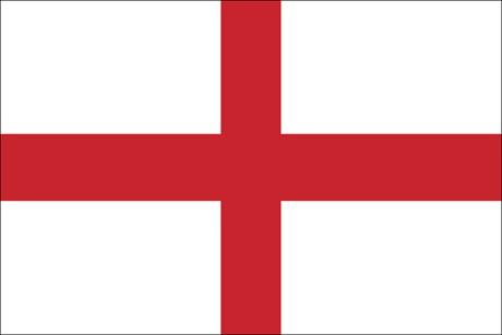 England als Fanfahne