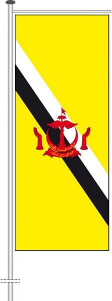 Brunei als Auslegerfahne