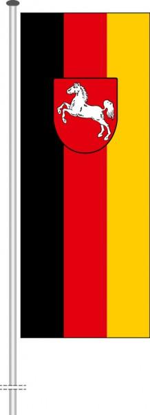 Niedersachsen - Bürgerflagge als Hochformatfahne