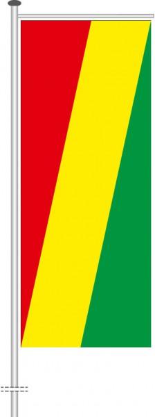 Kongo Brazzaville als Auslegerfahne