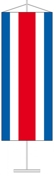 Costa Rica als Tischbanner