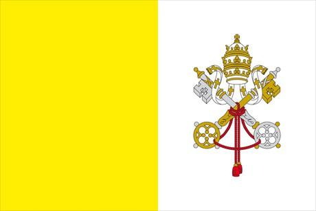 Vatikan als Fanfahne