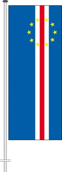 Kap Verde als Hochformatfahne