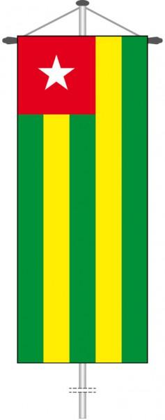 Togo als Bannerfahne