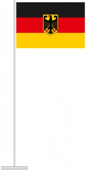 Bundeswappenflagge als Tischfahne