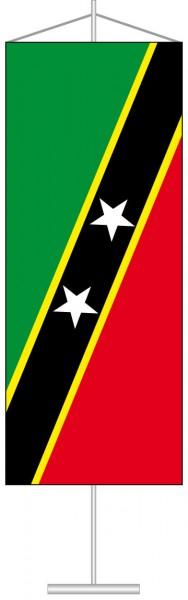 St. Kitts und Nevis als Tischbanner