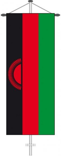 Malawi als Bannerfahne