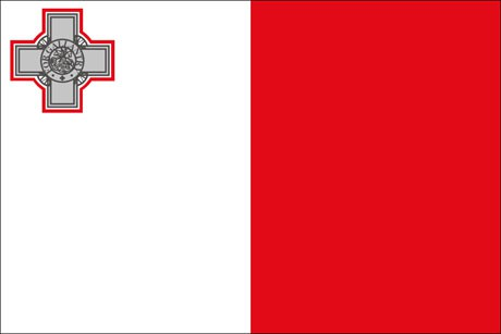 Malta als Fanfahne