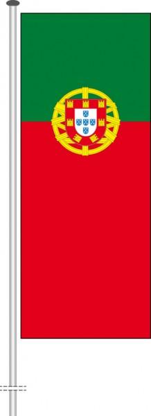 Portugal als Hochformatfahne