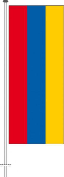 Armenien als Hochformatfahne