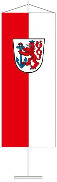 Düsseldorf mit Wappen als Tischbanner