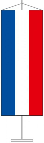 Schleswig-Holstein - Streifenflagge als Tischbanner