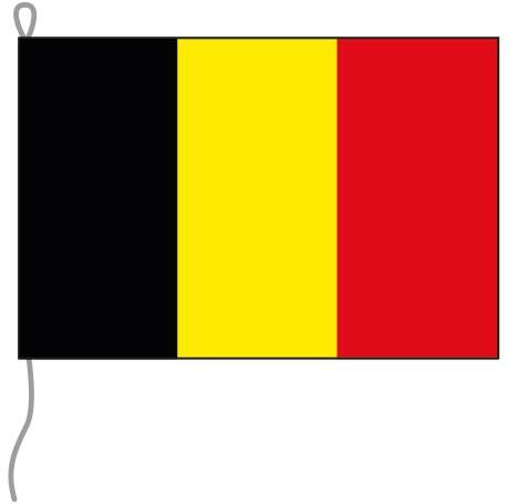 Belgien als Bootsfahne