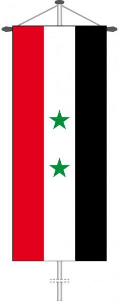 Syrien als Bannerfahne