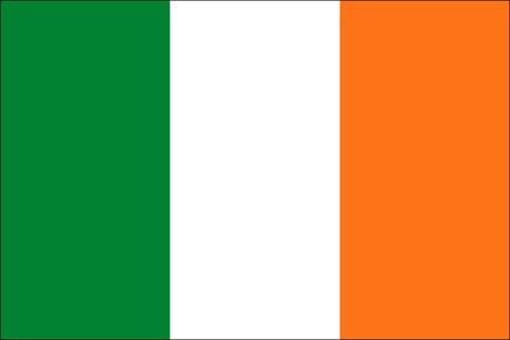 Irland als Fanfahne