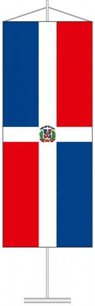 Dominikanische Republik als Tischbanner