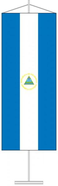 Nicaragua als Tischbanner