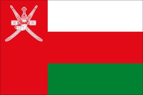 Oman als Fanfahne