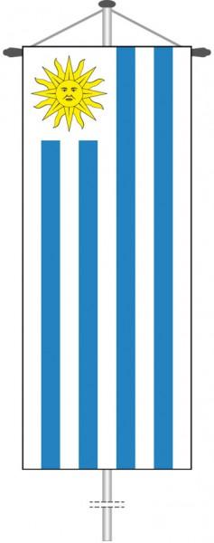 Uruguay als Bannerfahne