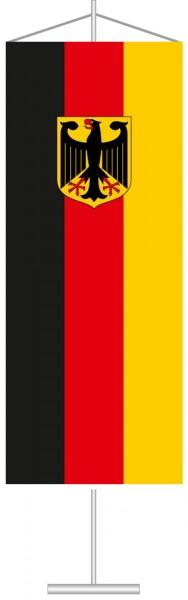 Bundeswappenflagge als Tischbanner