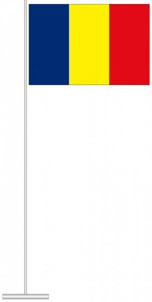 Andorra als Tischfahne