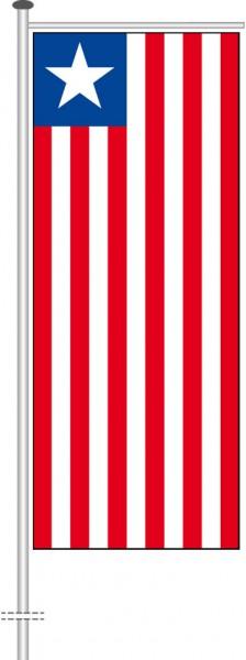 Liberia als Auslegerfahne