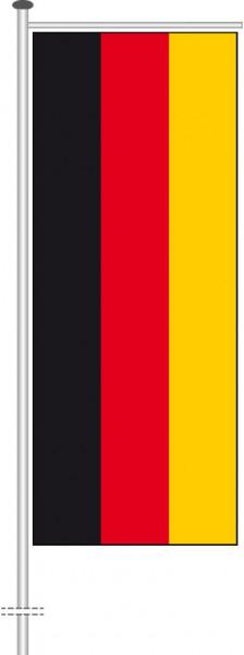 Deutschland als Auslegerfahne