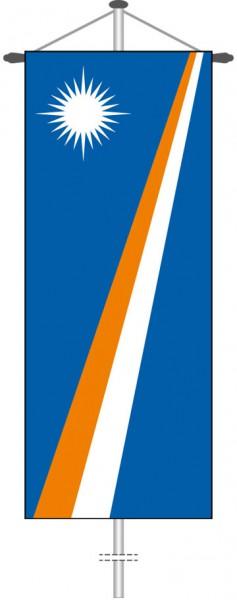 Marshallinseln als Bannerfahne