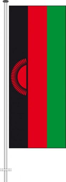 Malawi als Hochformatfahne