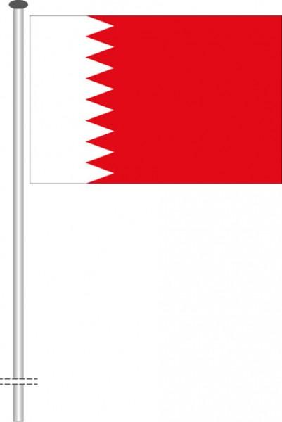 Bahrain als Querformatfahne