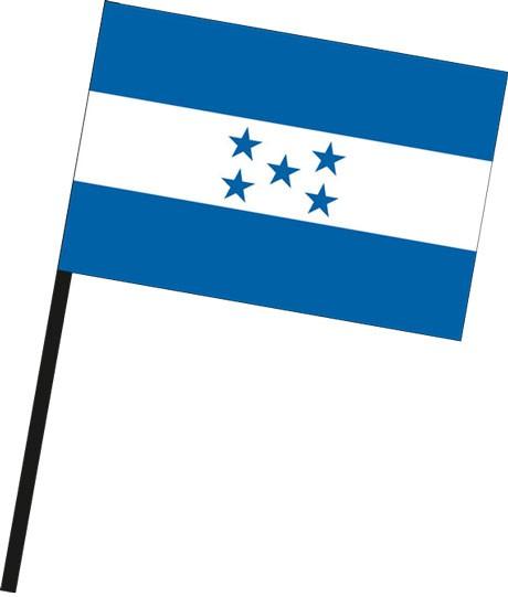 Honduras als Stockfahne