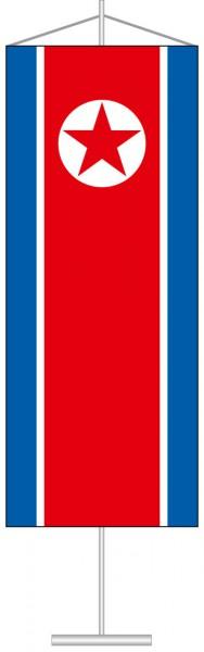 Nordkorea als Tischbanner