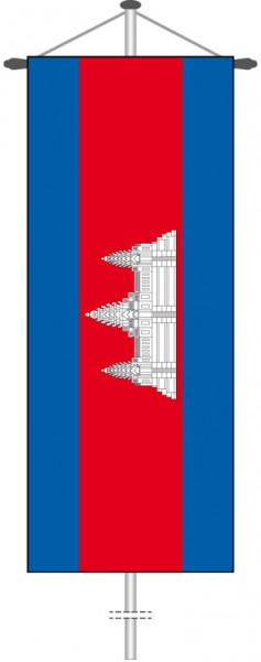 Kambodscha als Bannerfahne