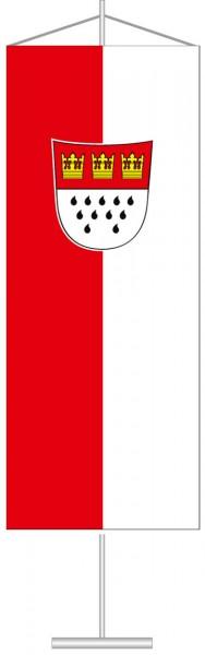 Köln mit Wappen als Tischbanner