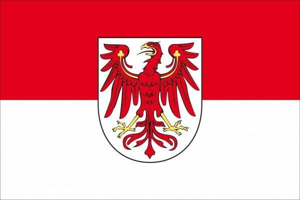 Brandenburg als Fanfahne
