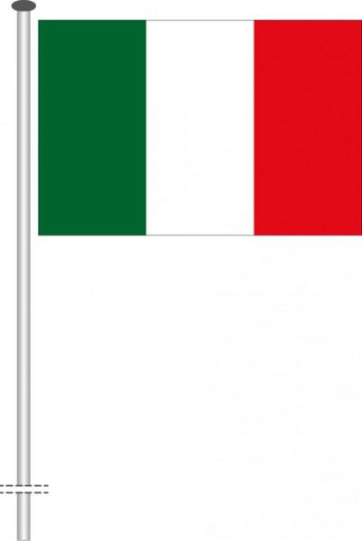 Italien als Querformatfahne