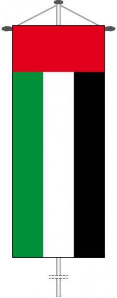 Vereinigte Arabische Emirate als Bannerfahne