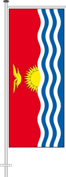 Kiribati als Auslegerfahne
