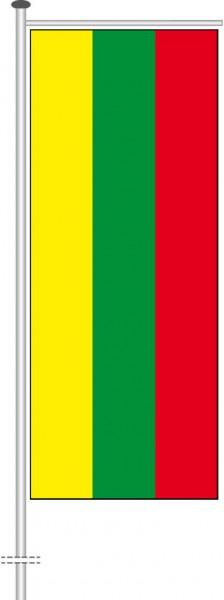 Litauen als Auslegerfahne