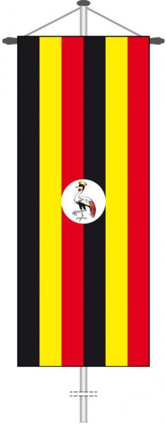 Uganda als Bannerfahne