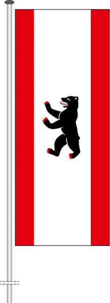 Berlin - Bürgerflagge als Hochformatfahne