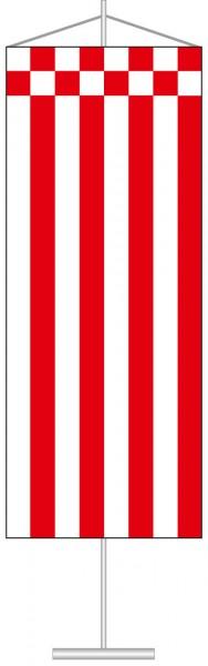 Bremen - Streifenflagge als Tischbanner