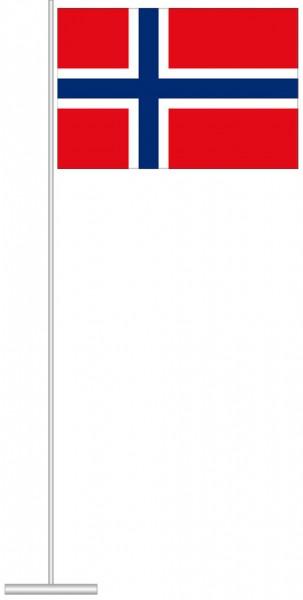 Norwegen als Tischfahne