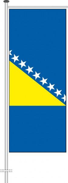 Bosnien Herzegowina als Auslegerfahne