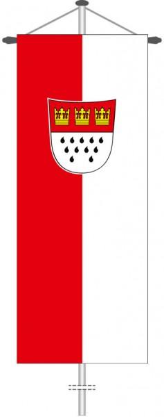 Köln mit Wappen als Bannerfahne