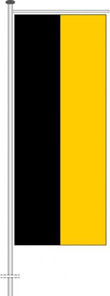 Baden-Würtemberg - Streifenflagge als Auslegerfahne